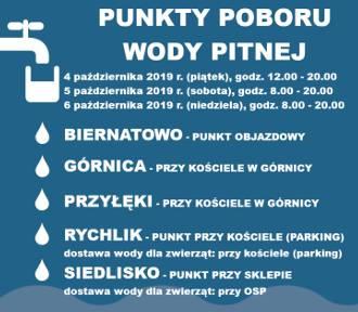 Dostępne są punkty poboru wody pitnej w Trzciance