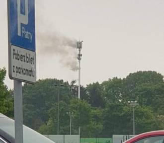 Pierwsze podpalenie masztu 5G w Polsce, w Łodzi. Szuka ich policja!
