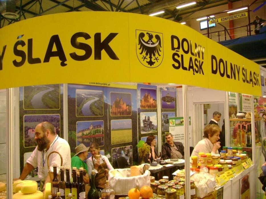 Województwo dolnośląskie jest jednym z wielu, które prezentowało swoją ofertę produktów naturalnych