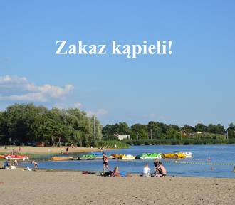 Kąpielisko Piaski - Szczygliczka zamknięte! Zakaz kąpieli do odwołania