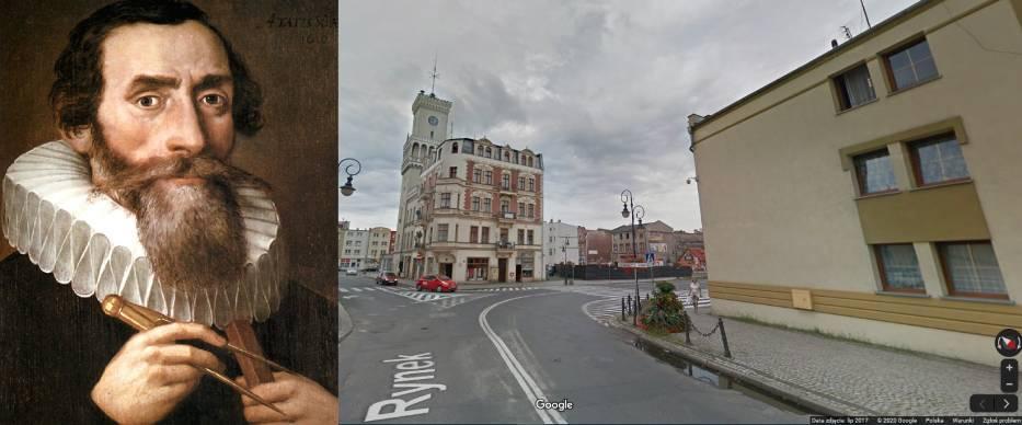 Kim był Johannes Kepler? Pomnik przy ul. Warszawskiej