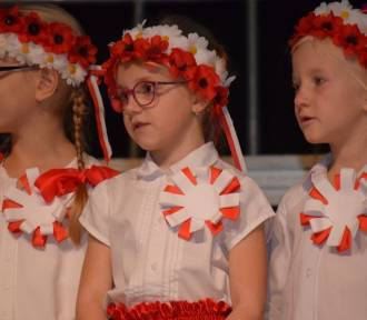 Nowy Dwór Gdański. Koncert patriotyczny Miejskiego Przedszkola nr 4