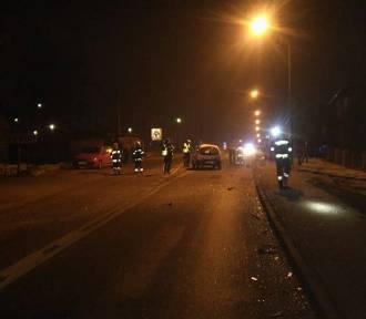 Wypadek na Chwałowickiej w Rybniku. Wpadły na siebie trzy samochody [FOT]