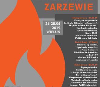 """Trzy dni wypełnione literaturą. Dziś w Wieluniu rozpoczyna się festiwal """"Zarzewie"""" [PROGRAM]"""