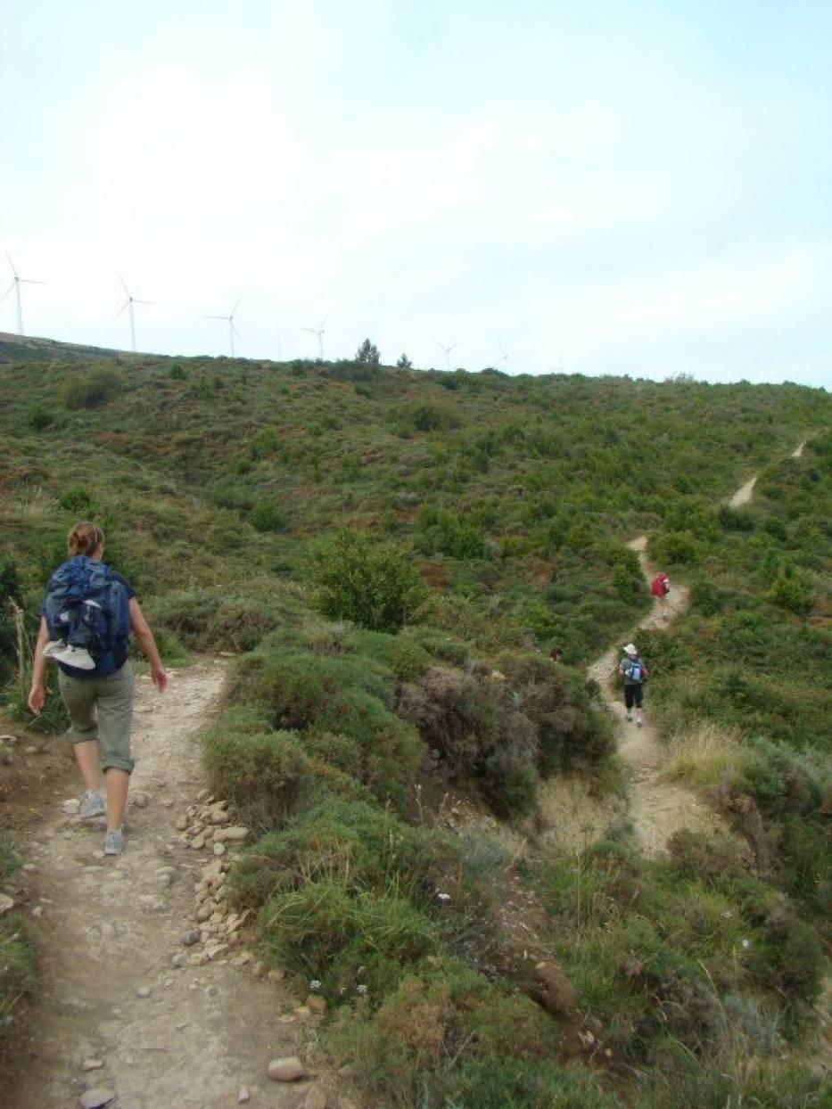 Pielgrzymi na 800- kilometrowym szlaku do Santiago