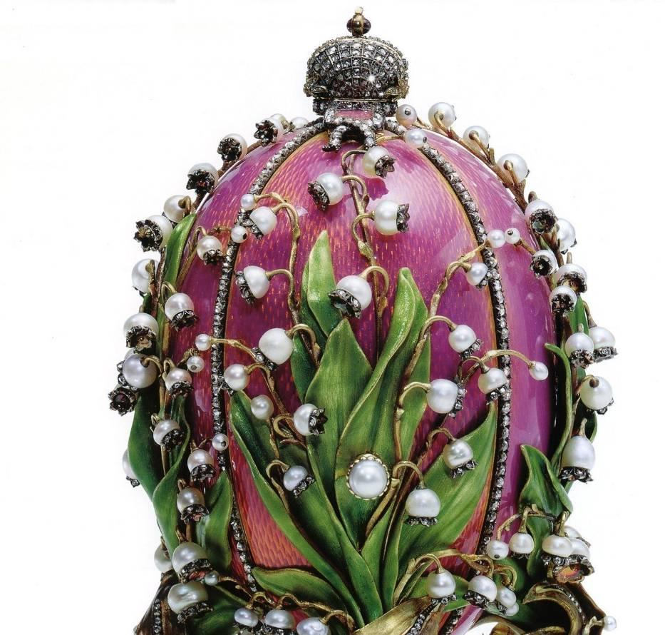 Jajko Fabergé z konwaliami