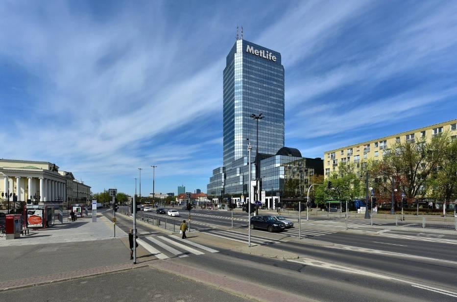 Błękitny Wieżowiec w Warszawie – 26 lat