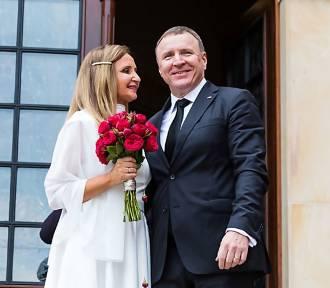 Ślub Jacka Kurskiego i Joanny Klimek po rozwodzie kościelnym
