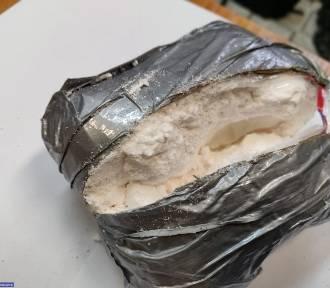 Dolny Śląsk: Chciał przemycić 3,5 kg amfetaminy! [ZDJĘCIA/WIDEO]
