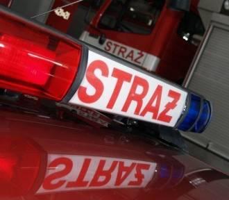 Pożar w Katowicach. Płonął warsztat samochodowy przy ulicy Szymanowskiego