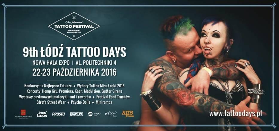 Tattoo Festival łódź 2016 B Art Tattoo Tatuaż Płock