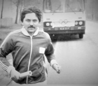 Andrzej Wolniak 40 lat temu przebiegł swój pierwszy maraton! ZDJĘCIA