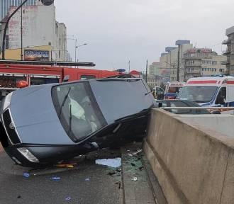Groźny wypadek w centrum Łodzi! Są ranni!