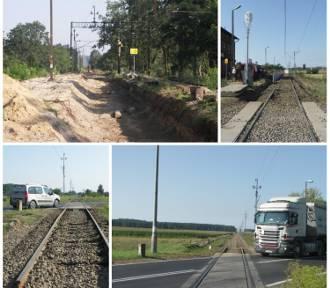 Na linii kolejowej nr 281 trwa wymiana tłucznia kamiennego i remonty mostów [ZDJĘCIA]