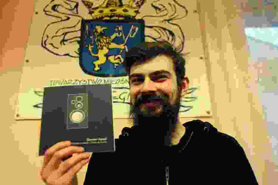 Spotkanie z poetą Damianem Kowalem w Legnicy