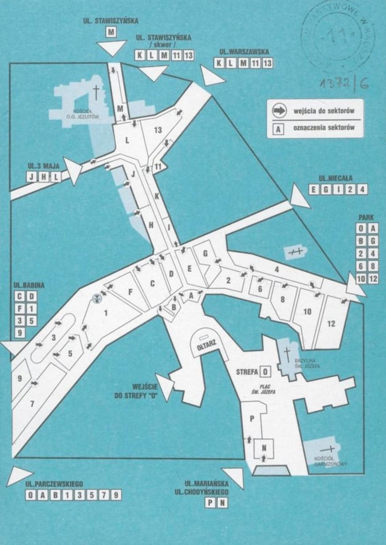 Jan Paweł II w Kaliszu. Zobacz wystawę online przygotowaną przez Archiwum Państwowe w Kaliszu