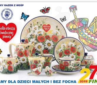 Piękny zestaw ceramika z Bolesławca dla WOŚP. Możesz go wylicytować!