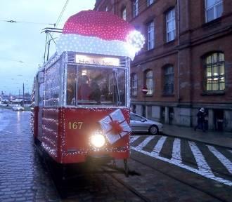 Będzie miał czapkę Mikołaja i masę światełek. Przejedziecie się takim tramwajem?