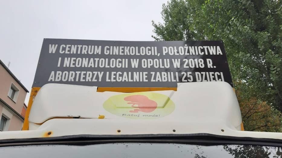 Działacze fundacji Pro-Prawo do Życia zapowiadają, że w Opolu swoje akcje będą organizować aż do zaprzestania wykonywania aborcji w tutejszym szpitalu ginekologiczno-położniczym