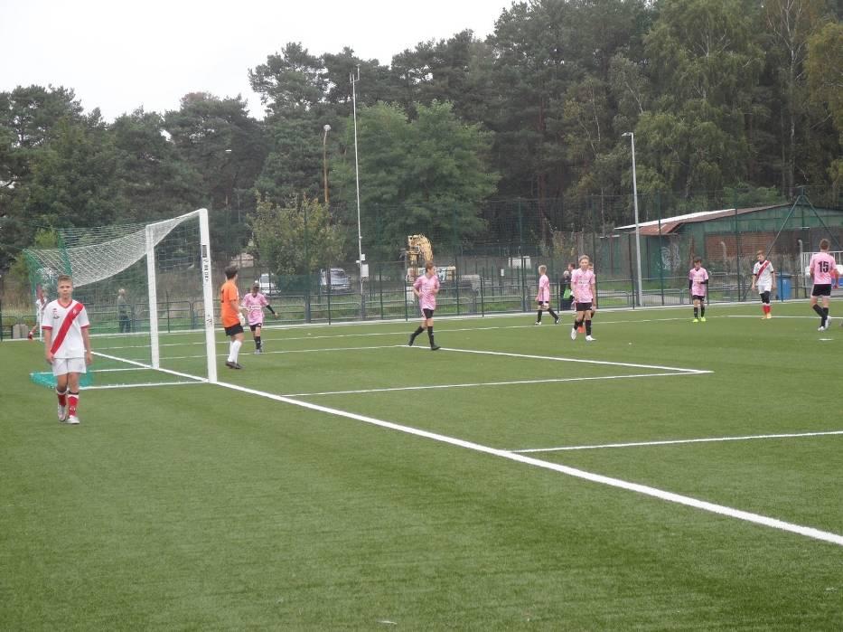 W minioną sobotę (10 października) w Ustce rozegrano mecz juniorów Ligi Wojewódzkiej C2