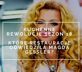 """""""Kuchenne rewolucje"""" - nowy sezon od 6.09.2018 roku. Które restauracje odwiedzi Magda Gessler"""