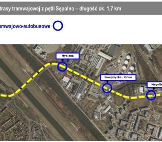 Wrocław. Zobacz, którędy pojedzie tramwaj na Swojczyce [DOKŁADNA MAPA]
