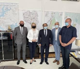 Spotkanie robocze w Warszawie w Ministerstwie Infrastruktury