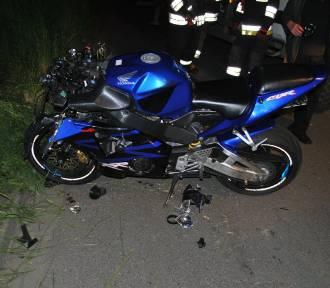 Poważny wypadek. Śmierć motocyklisty!