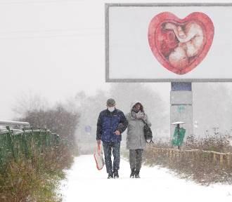 W Poznaniu spadł śnieg! Zima zaskoczyła kierowców i drogowców?