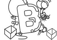 Alfabet litera b