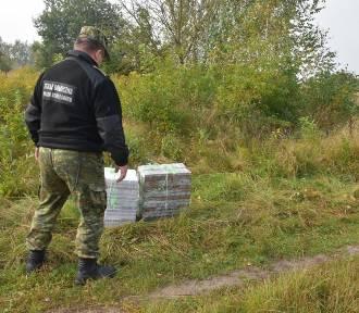 Kolejny przemyt  papierosów zatrzymany na wschodniej granicy