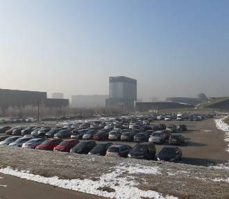 Parkingi w Strefie Kultury otwarte i znów pełne. Kiedy będą płatne?