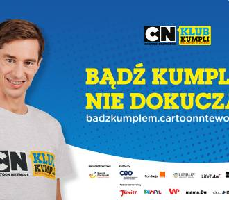 Bądź dobrym kumplem i dołącz do kampanii Cartoon Network!