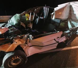 Śmiertelny wypadek na S5 między węzłami Bojanowo a Rawicz