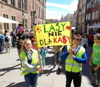 """""""LoveLasy"""" - gdański marsz w obronie Trójmiejskiego Parku Krajobrazowego [zdjęcia]"""