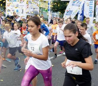 Bieg dzieci i VIP-ów przed półmaratonem