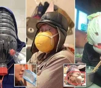 Nie uwierzysz, tak naprawdę niektórzy chronili się przed koronawirusem [zdjęcia]