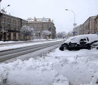 Śnieg znów ma przysypać Jarosław. Zapowiadają bardzo duże opady!