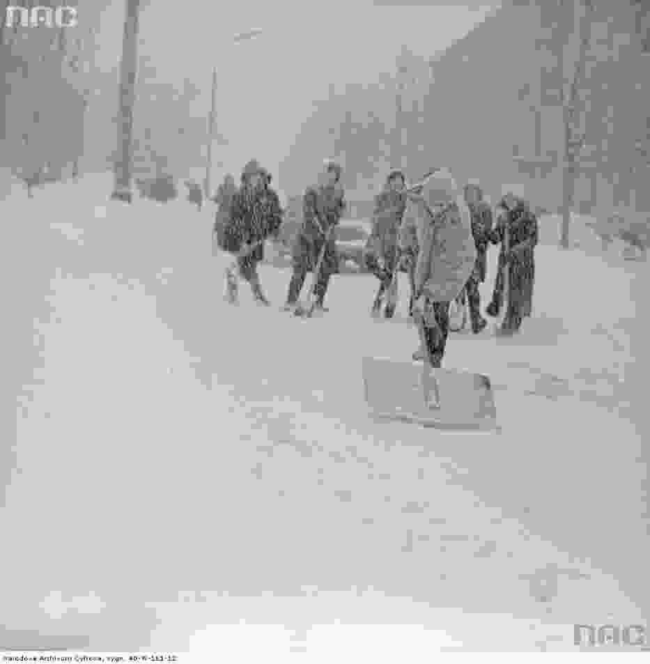 Zima stulecia w Warszawie, 30 stycznia 1979