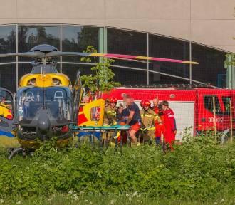 Katowice. Mężczyzna reanimowany na basenie w Burowcu. Lądował LPR