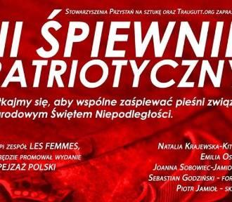 Pruszcz Gdański: W poniedziałek III Śpiewnik patriotyczny. Okazja do zaśpiewania pieśni związanych