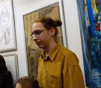 Wystawa prac Bolesława Sysio w bibliotece w Zduńskiej Woli [zdjęcia]