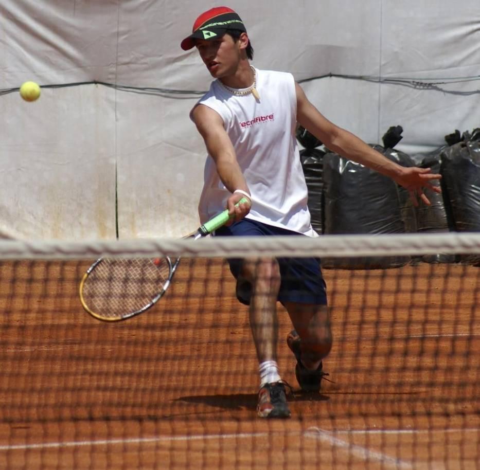 Maciej Marchewka podczas meczu finałowego
