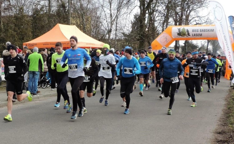 Biegali w Lesie Babskim pod Mogilnem [zdjęcia]
