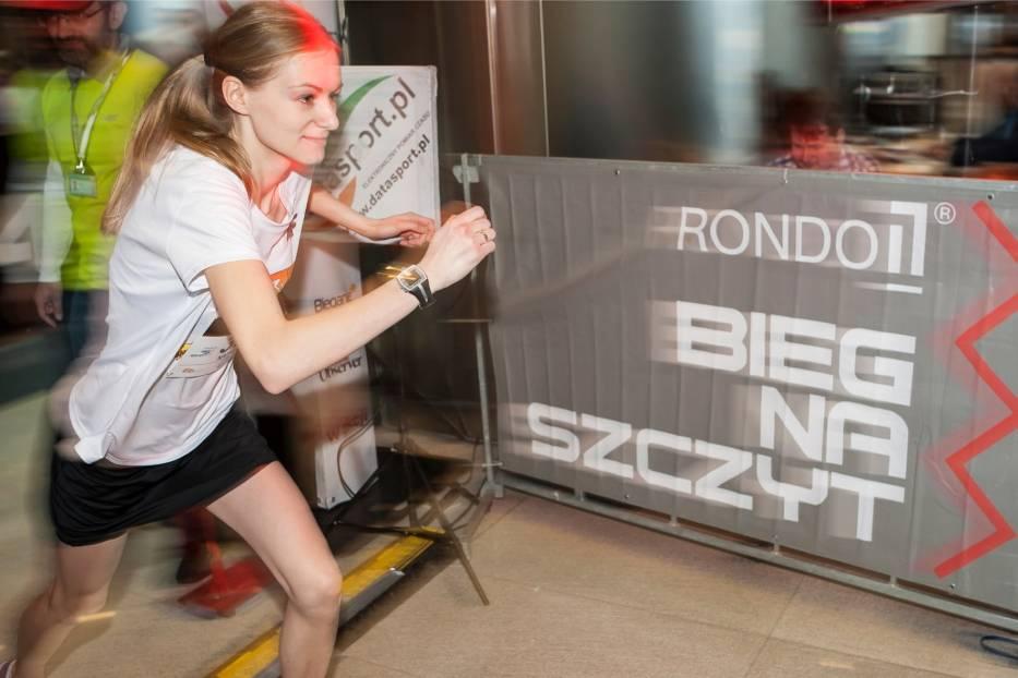Bieg na szczyt Rondo 1, Warszawa 2019