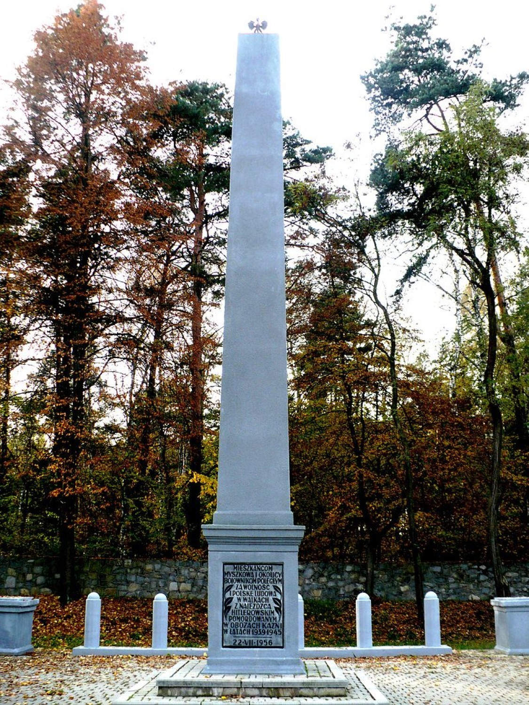 Pomnik Zamordowanych w Lesie Koziegłowskim