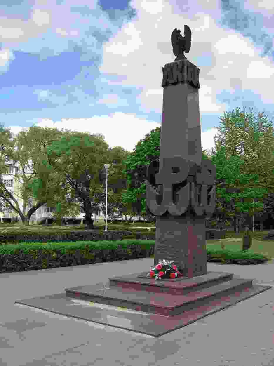 pomnik bohaterów Armii Krajowej w Ostrołęce
