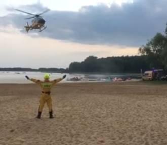 SKORZĘCIN: Będzie lądował śmigłowiec - trwa akcja ratunkowa