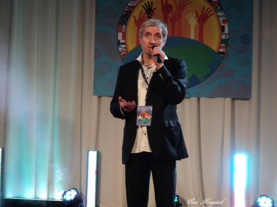 Organizator imprezy Evgen Malinovskiy
