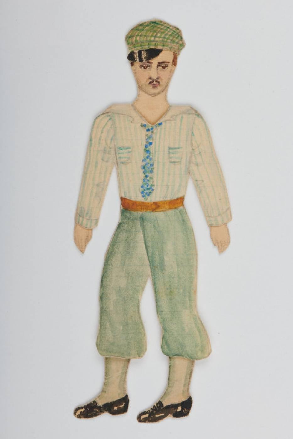 Powstanie Warszawskie. Papierowe lalki miały odwrócić uwagę od wojennej codzienności